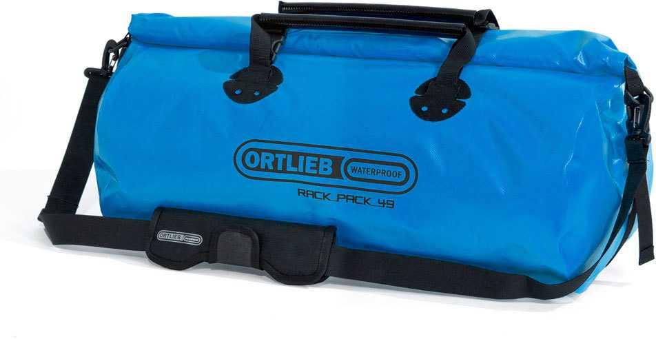 Duffel Ortlieb Rack-pack 49 l blå