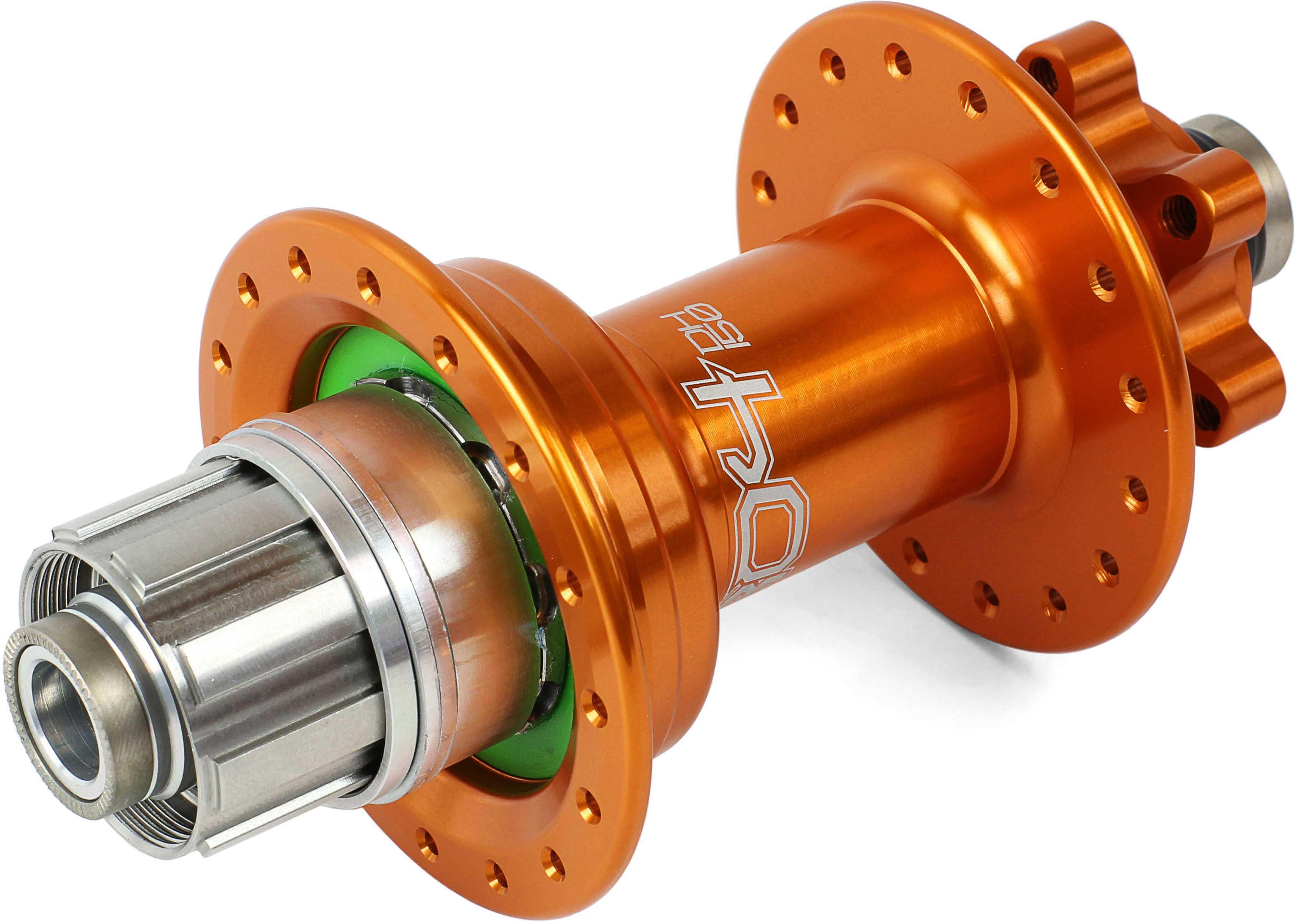 Bagnav Hope Pro 4 DH IS 32H 12 x 150 mm Shimano/SRAM stål orange | Hubs