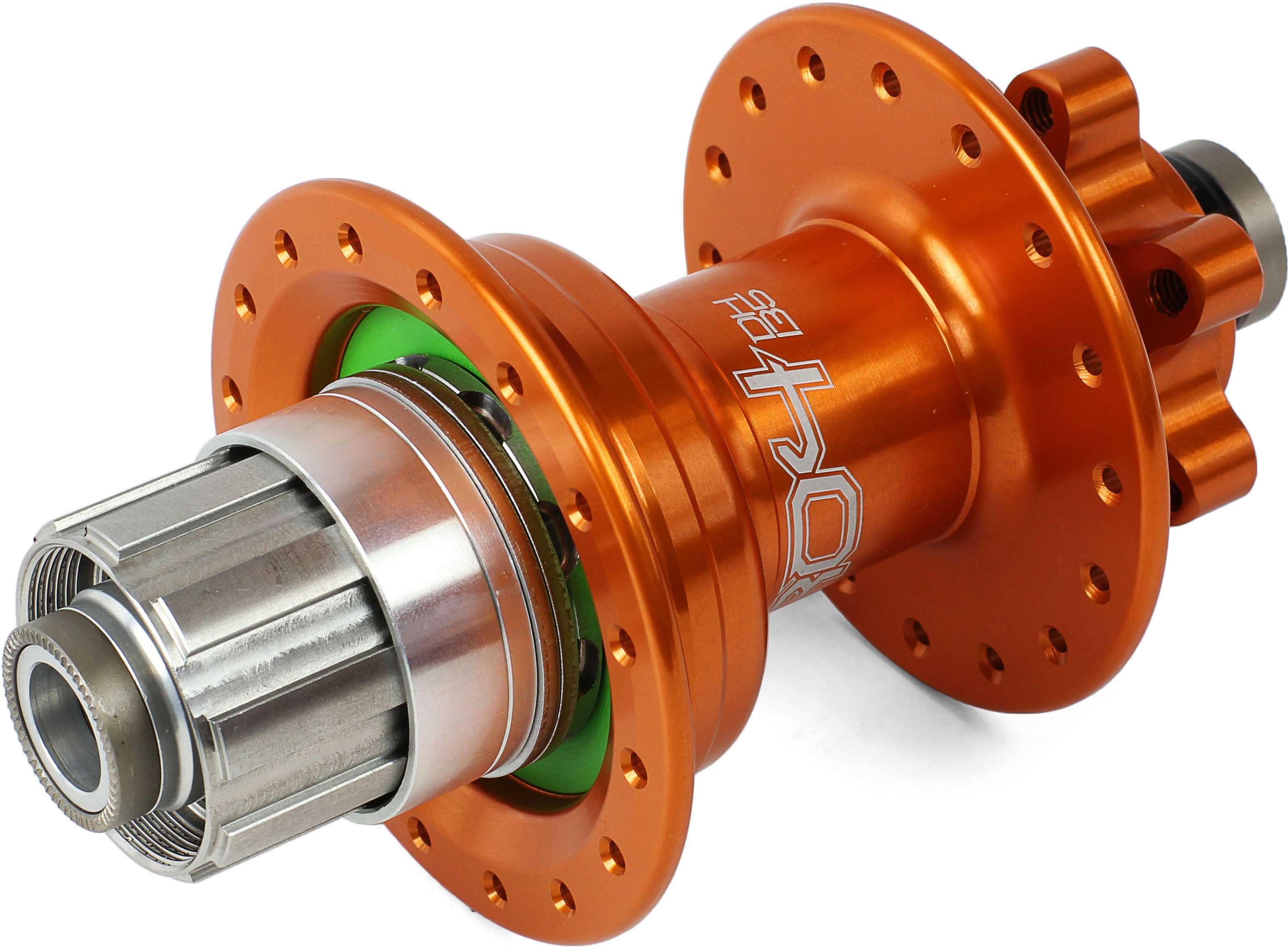 Bagnav Hope Pro 4 DH IS 36H 12 x 135 mm Shimano/SRAM stål orange | Hubs