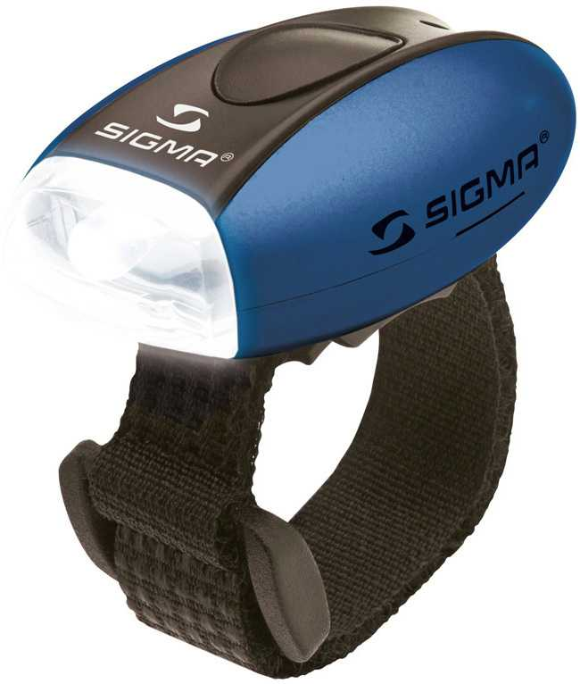 Framlampa Sigma Micro blå