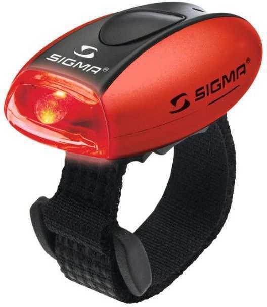 Baklampa Sigma Micro röd