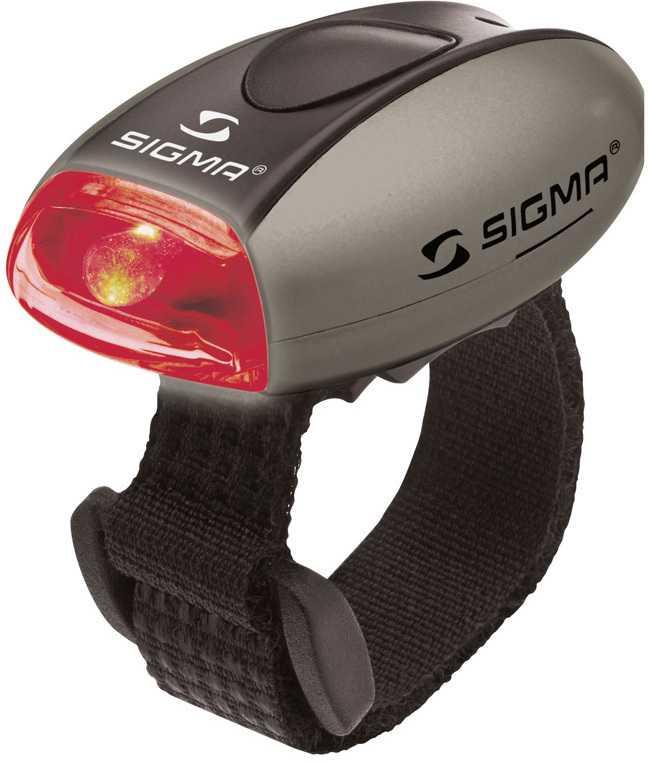 Baklampa Sigma Micro silver
