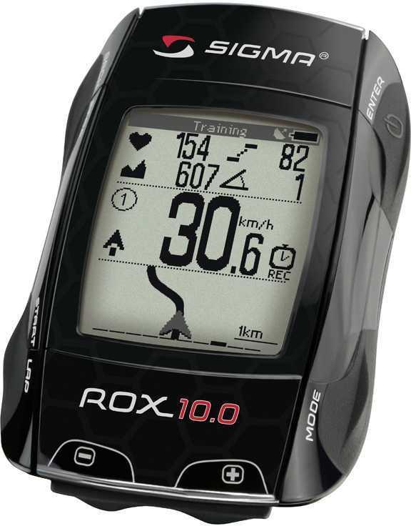Cykeldator Sigma ROX 10.0 gps svart