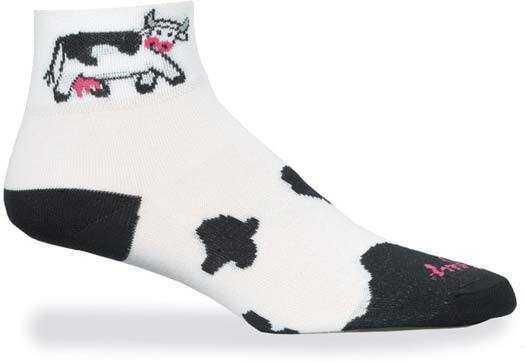 Strømper Sockguy Double Knit Mesh Cow | Socks