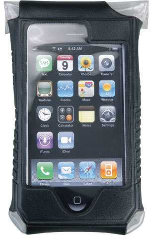 Mobilholder Topeak Smartphone Drybag Iphone 4/4S sort | phone_mounts_component
