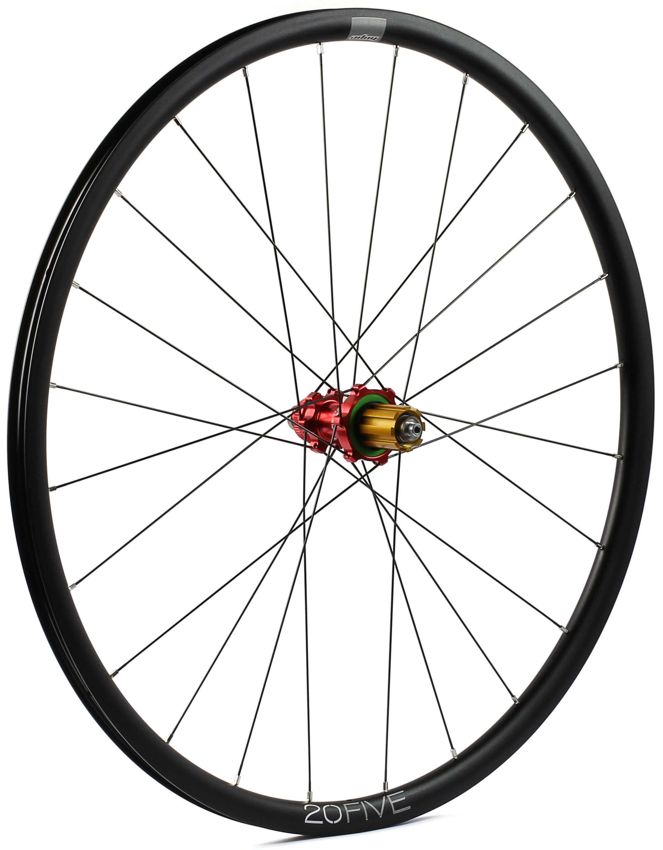 Baghjul Hope 20Five/RS4 Straight Pull kanttråd CL Campagnolo rød | Rear wheel