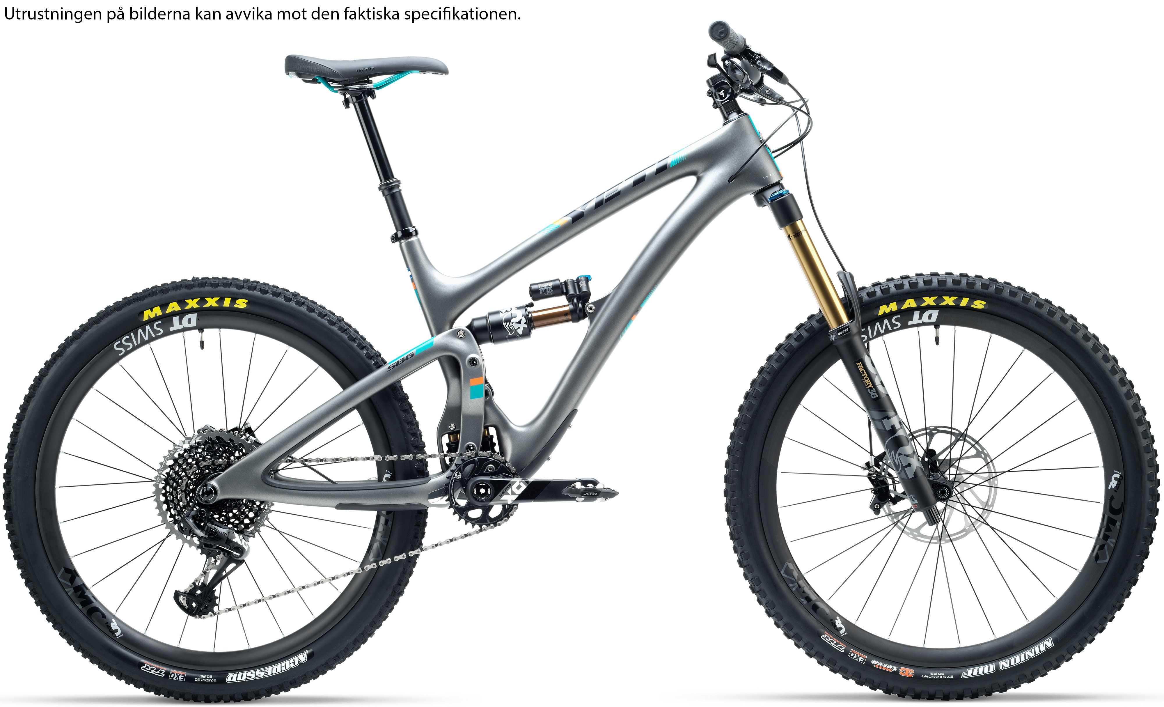 Yeti SB6 Carbon GX antracit x-large