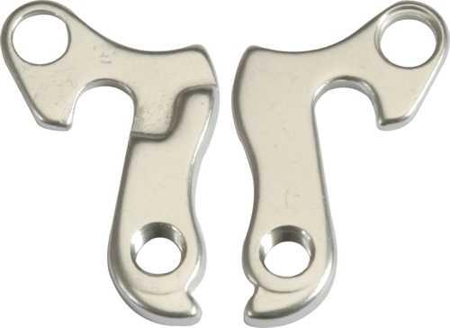Bakväxelöra Crescent nr. C1410022, silver