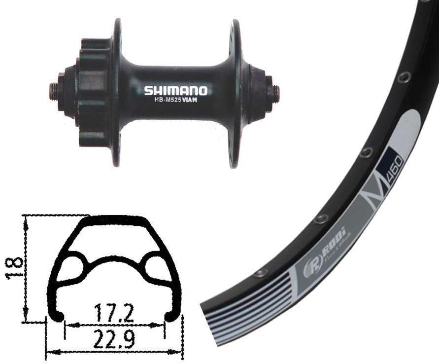 Forhjul Rodi M 460 26