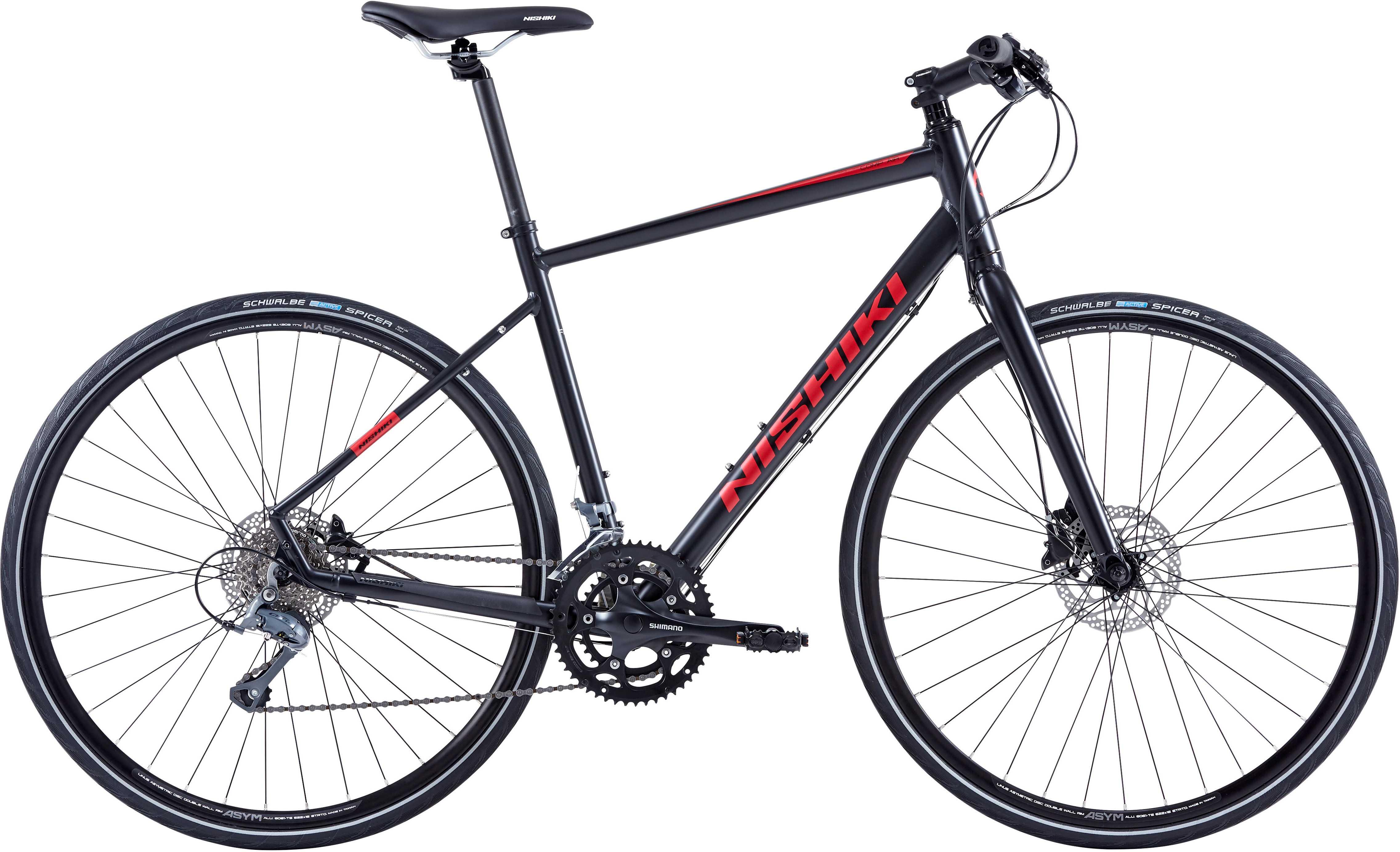 NISHIKI COMP-AIR HERRE SORT/R | City-cykler