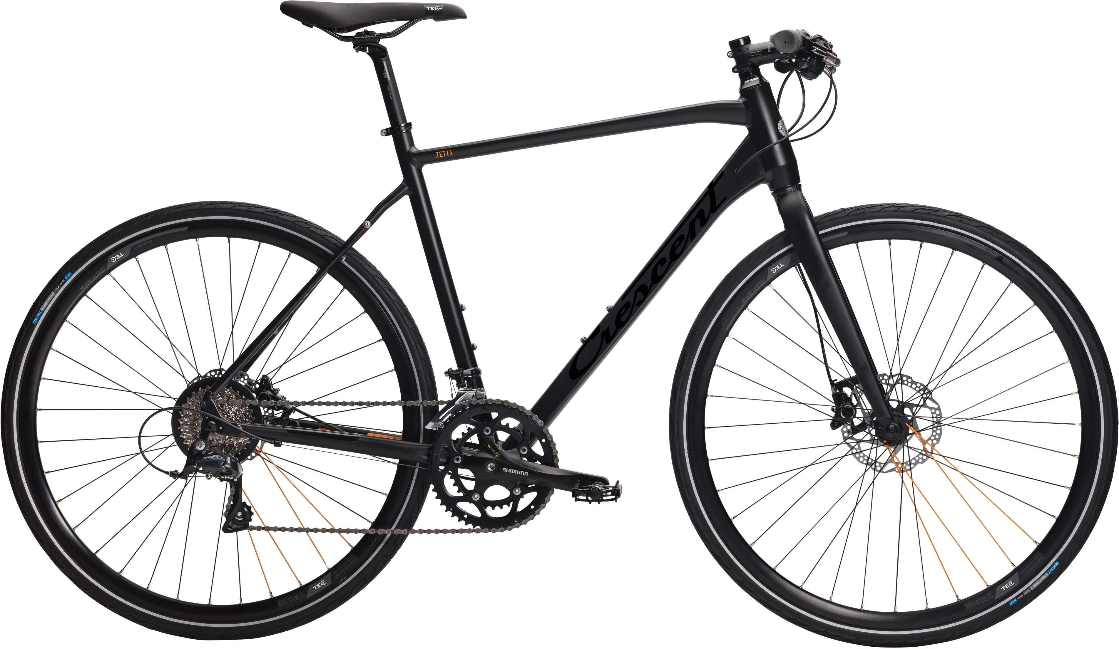 CRESCENT ZETTA MATSORT | City-cykler