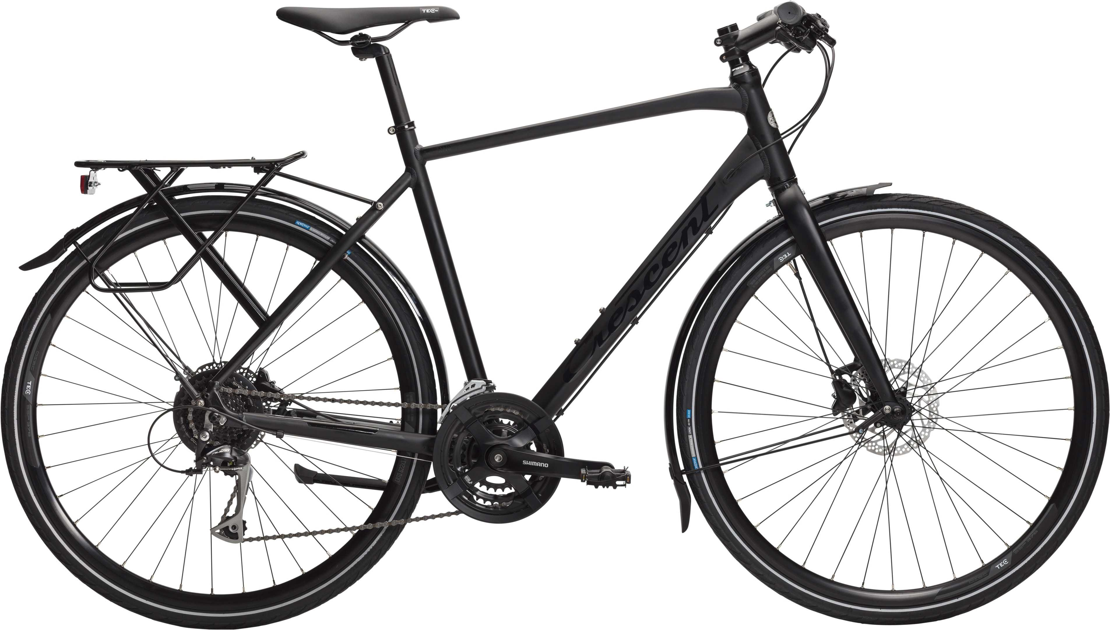 CRESCENT ATTO+ MATSORT | City-cykler