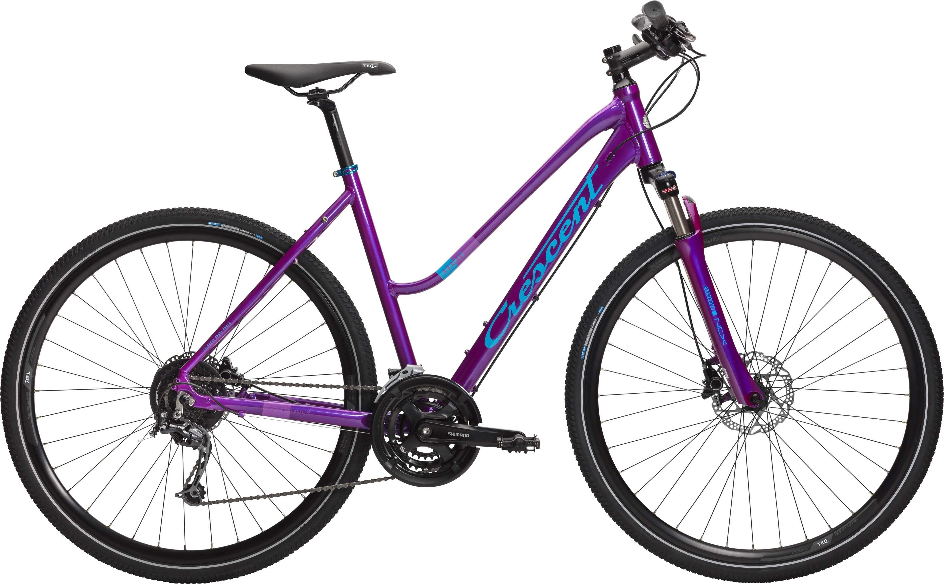 CRESCENT ANARIS LILLA METALLIC | City-cykler