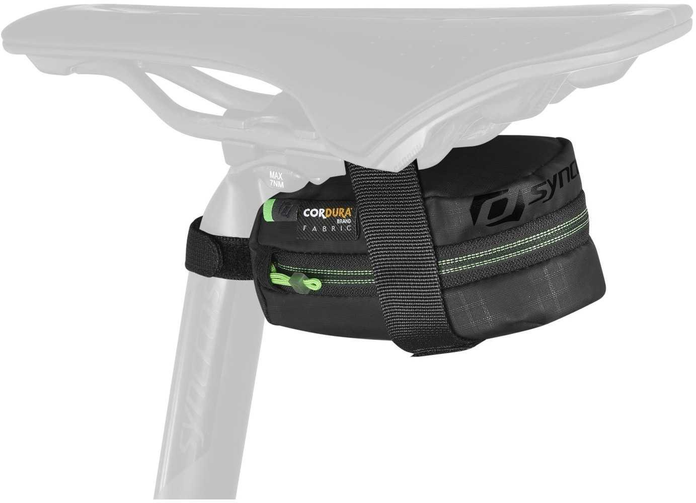 Sadeltaske Syncros Speed 200 strap sort   Saddle bags