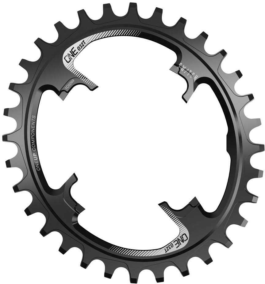 Drev OneUp Switch Oval 9-12 växlar 28T svart | chainrings_component