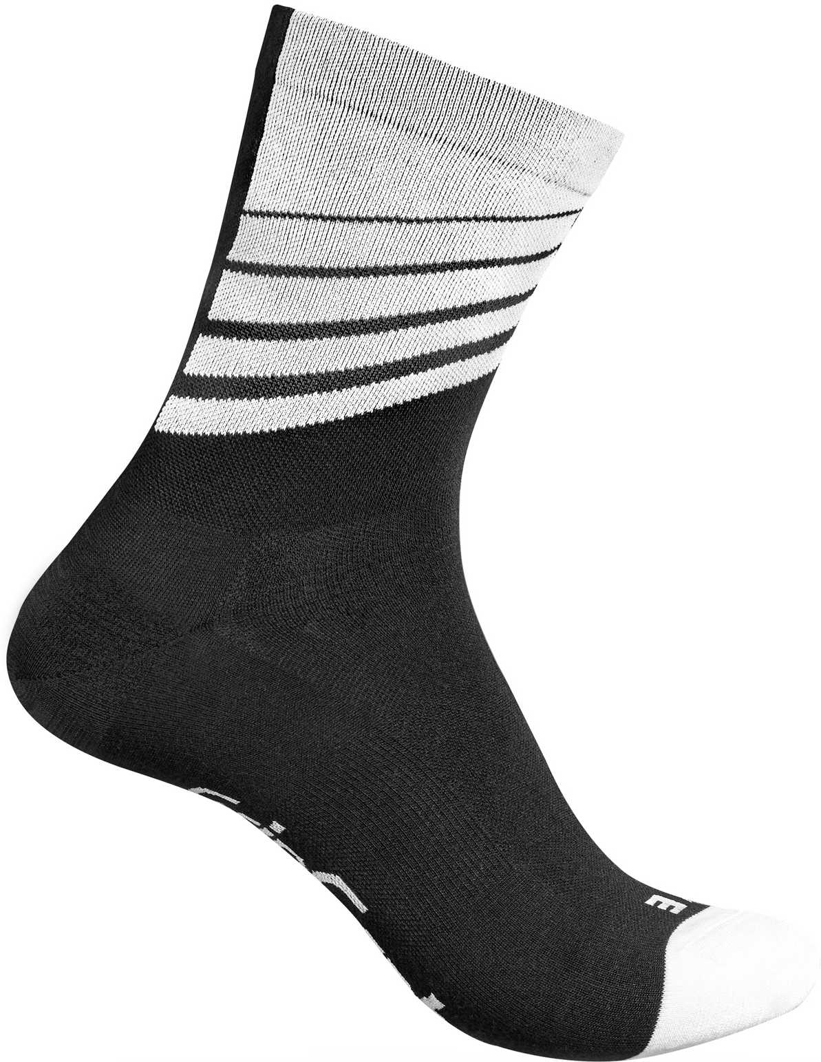 Strømper GripGrab Racing Stripes sort/blå   Socks