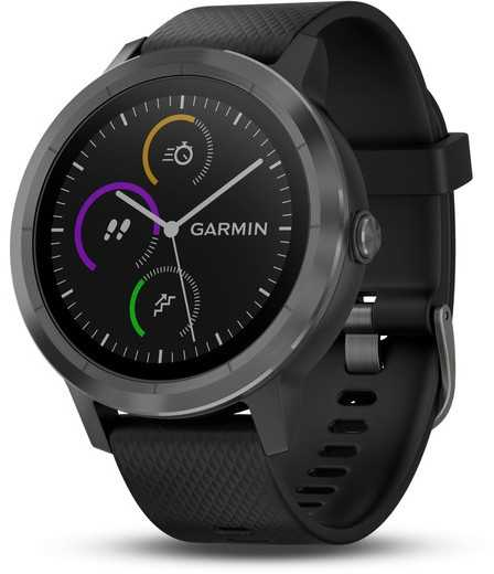 Aktihvidetsmåler Garmin Vivoactive 3 sort/skifer   Sports watches