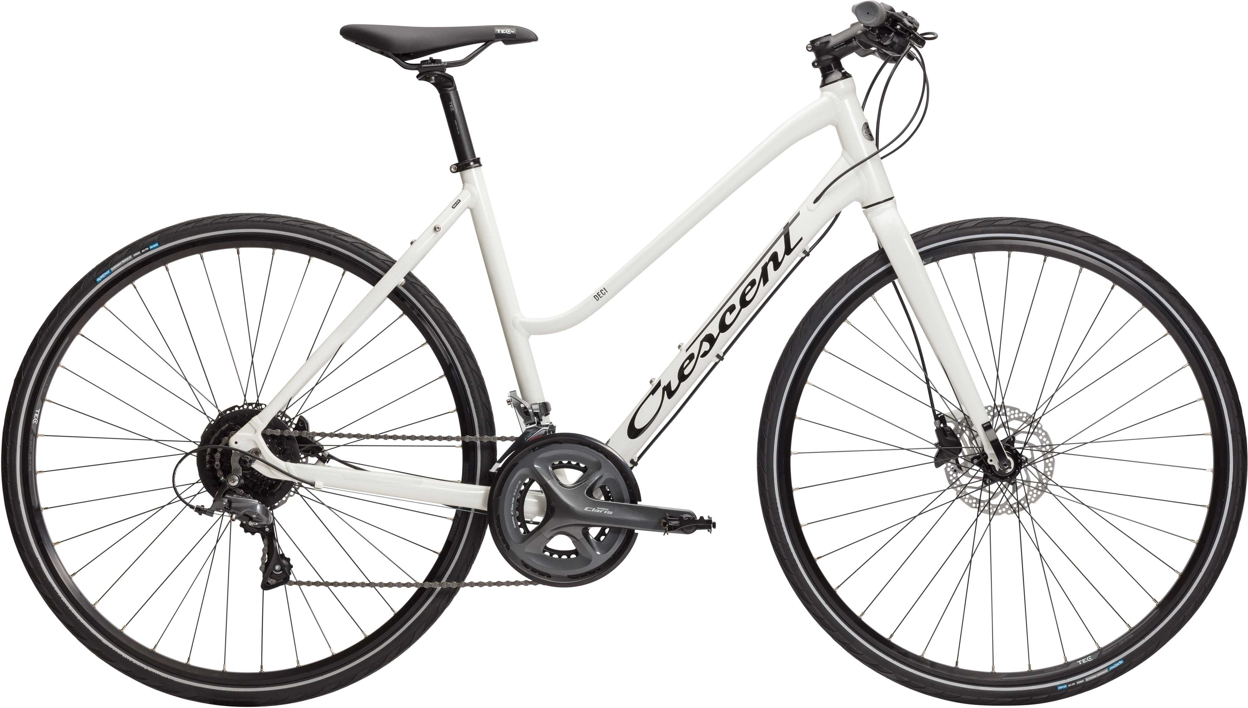 Crescent Deci vit | City-cykler