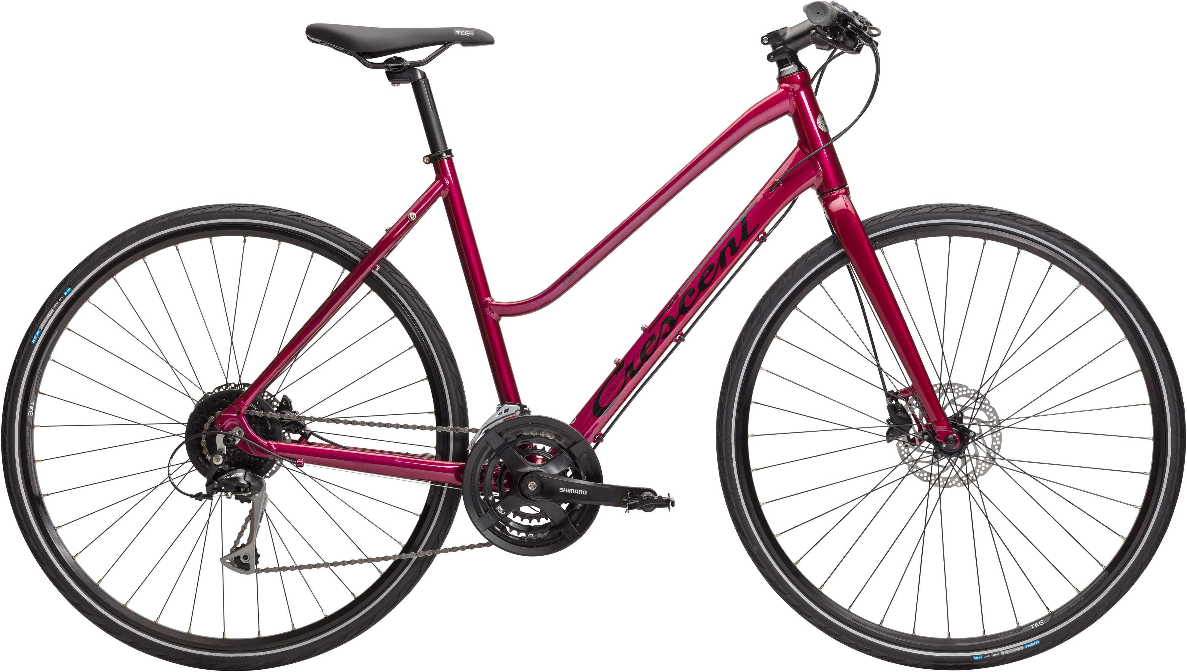 Crescent Femto röd | City-cykler