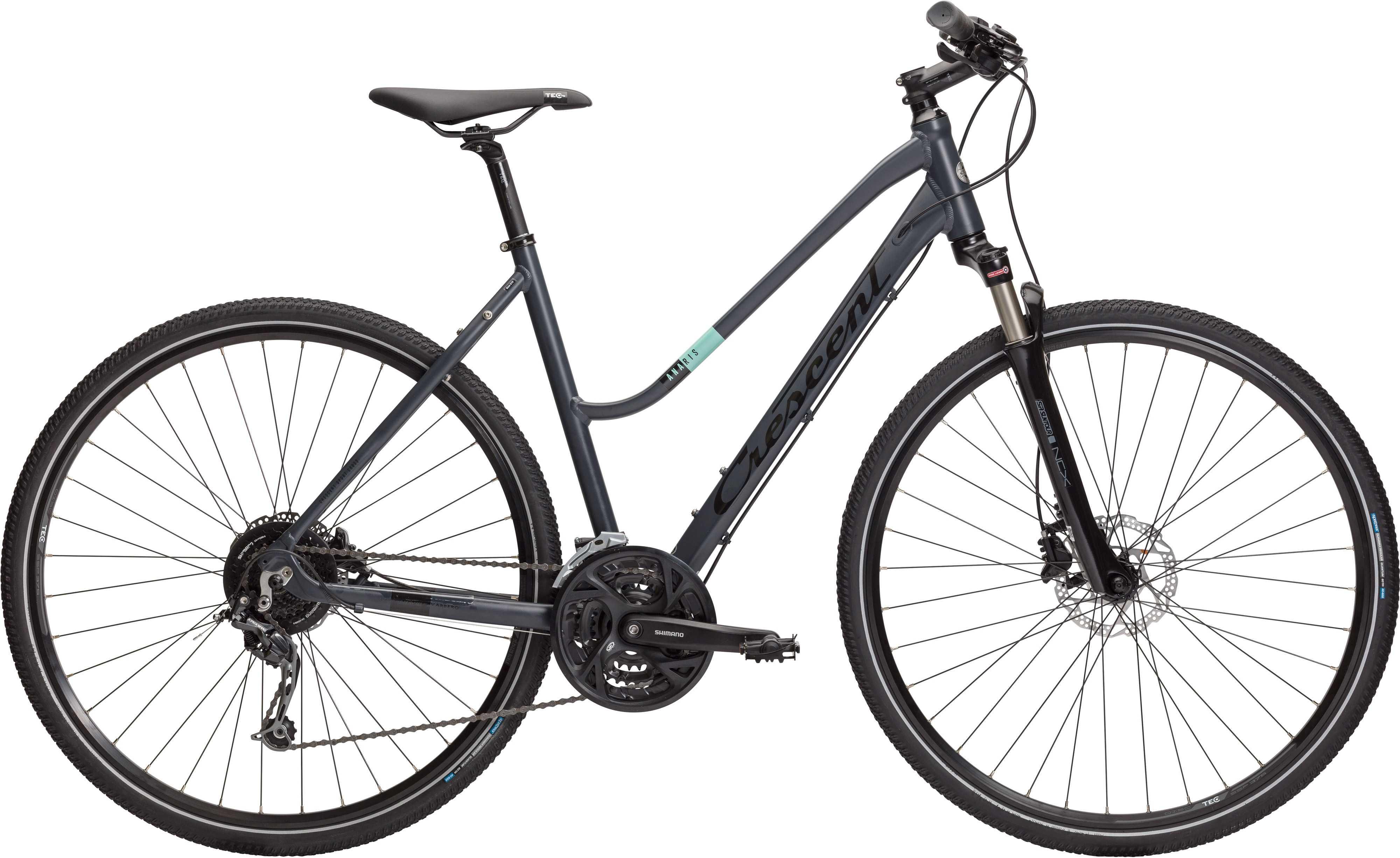 Crescent Anaris mörkgrå | City-cykler