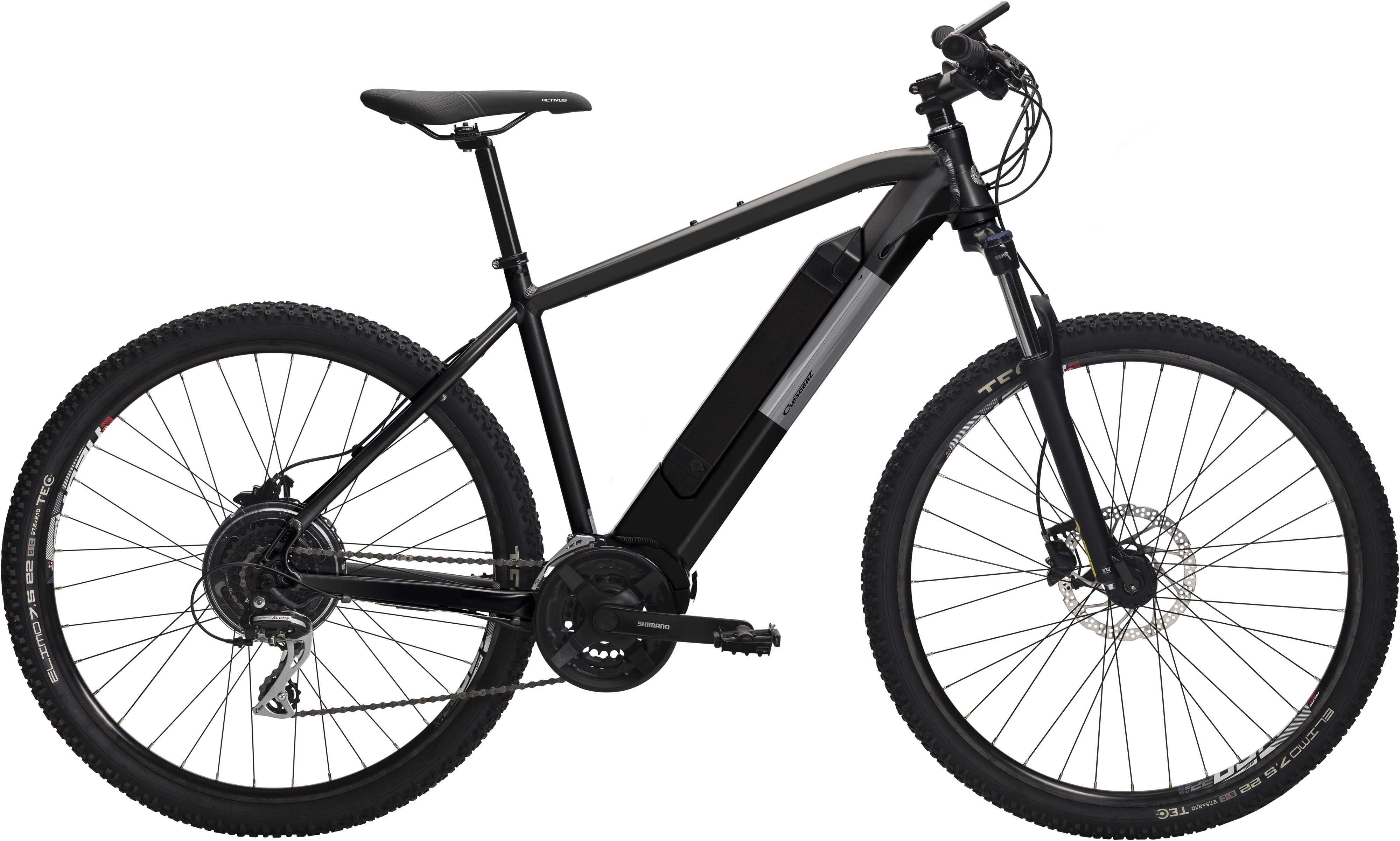 Crescent Kraft K50 matt svart | City-cykler