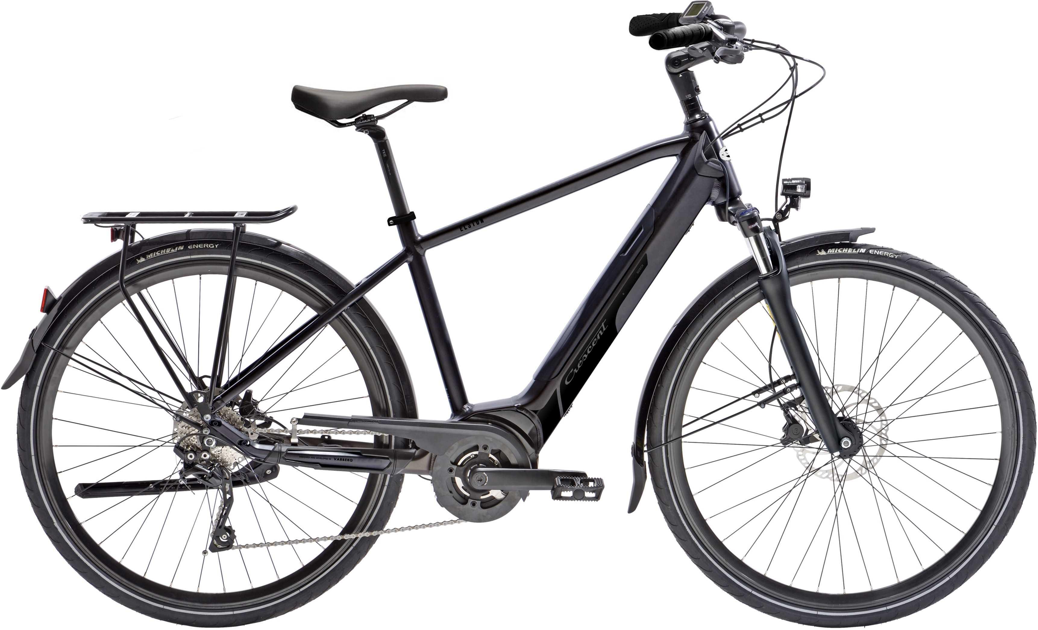 Crescent Elston mörkgrå | City-cykler