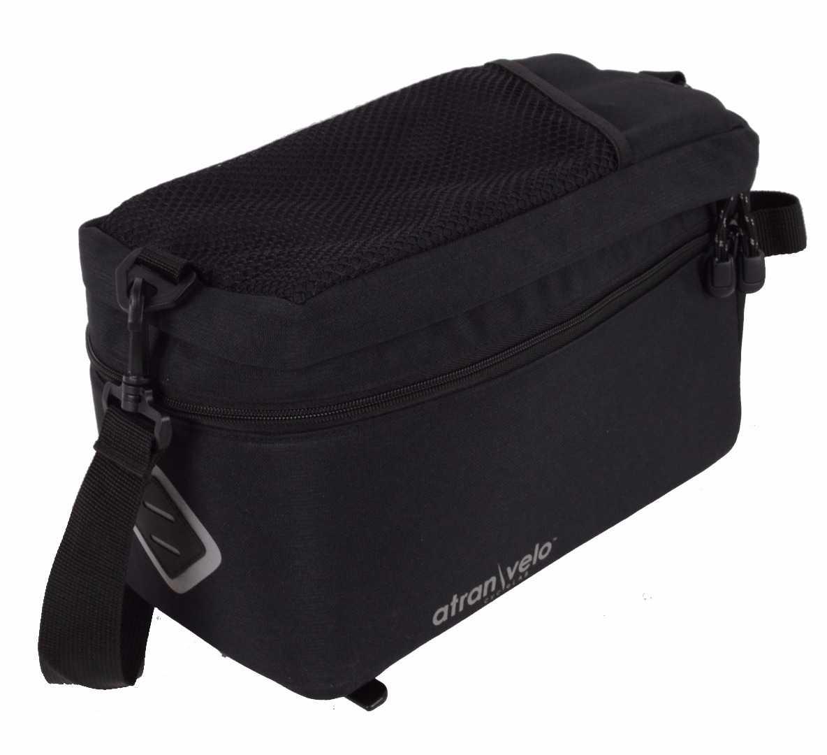 Pakningstaske Atran Velo ZAP Easy Top Bag 11.5 l sort   Travel bags