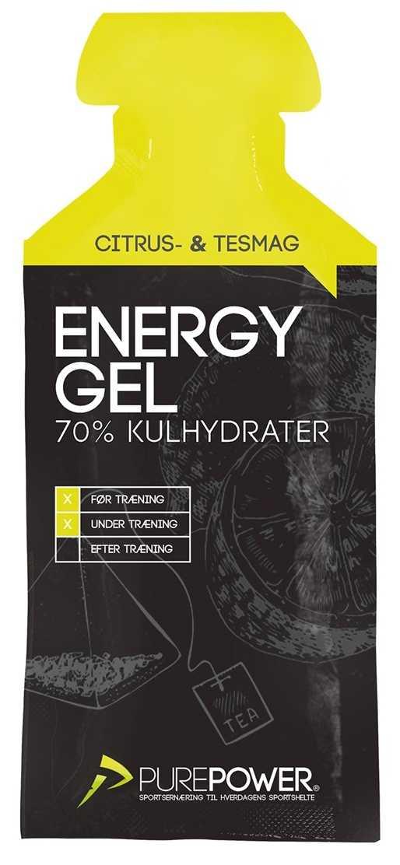 Energigel PurePower Energy Gel 40 g citron te   Energy gels