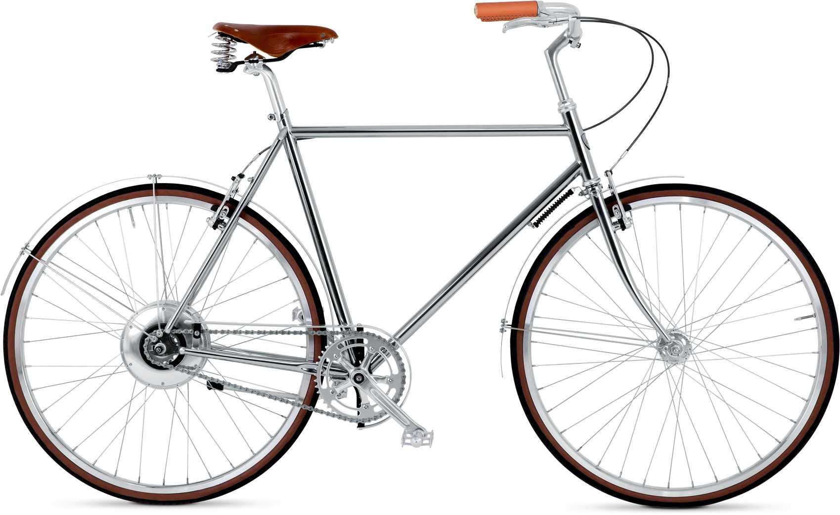 BIKEID Majestic E krom | City-cykler