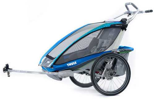 Cykelvagn Thule Chariot CX2 blå
