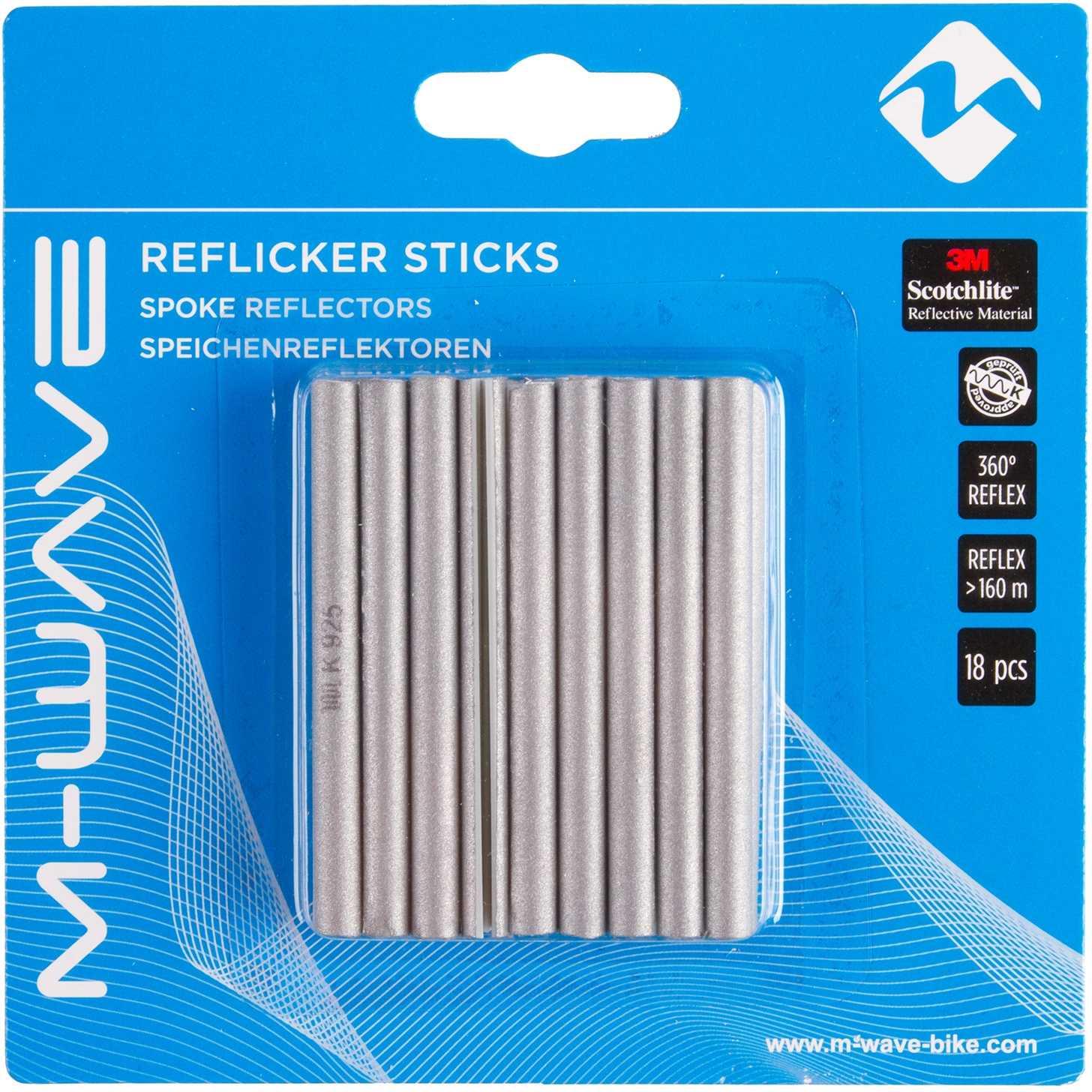 Reflex M-Wave för ekrar 18-pack