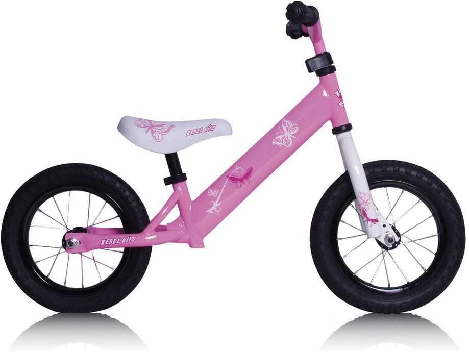 "Balanscykel Rebel Kidz Air 12.5"" rosa one-size"