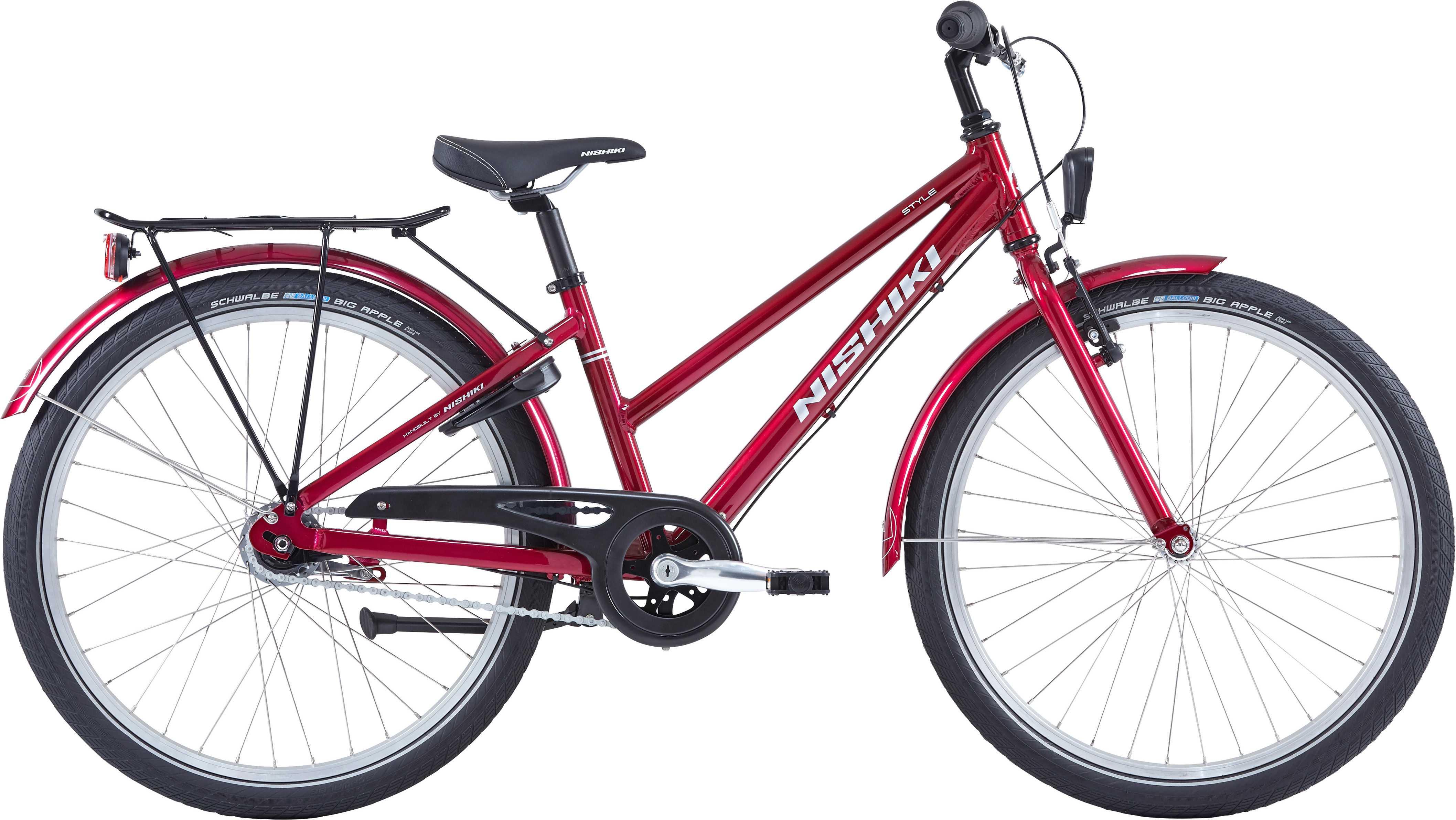 """Nishiki Style 24"""" röd 34 cm"""
