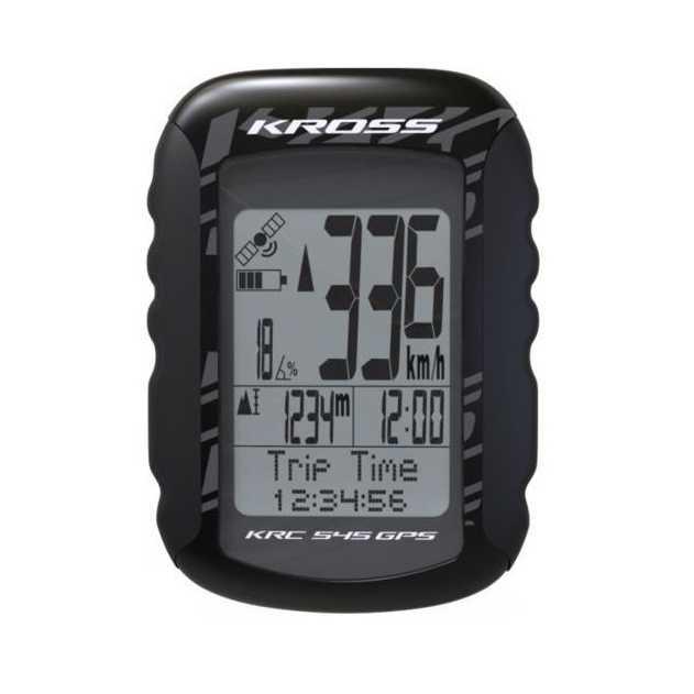 Cykeldator Kross KRC 545GPS svart