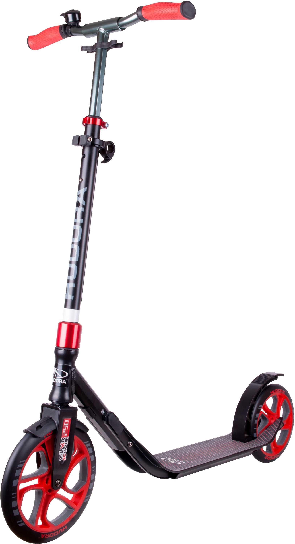 Sparkcykel Hudora CLvr 250/215 mm svart/röd