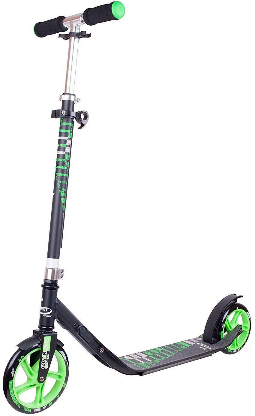 Sparkcykel Hudora CLvr 200/180 mm grön