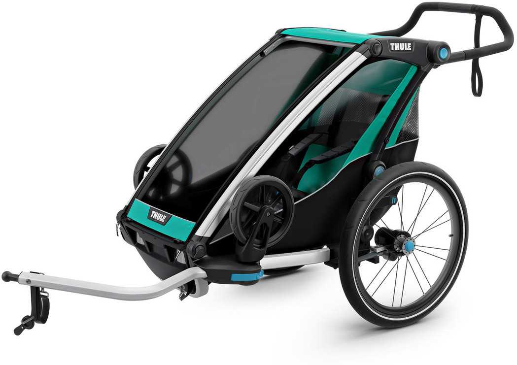 Cykelvagn Thule Chariot Lite 1 barn grön