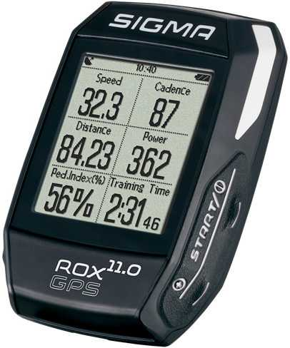 Cykeldator Sigma ROX Gps 11.0 Basic svart