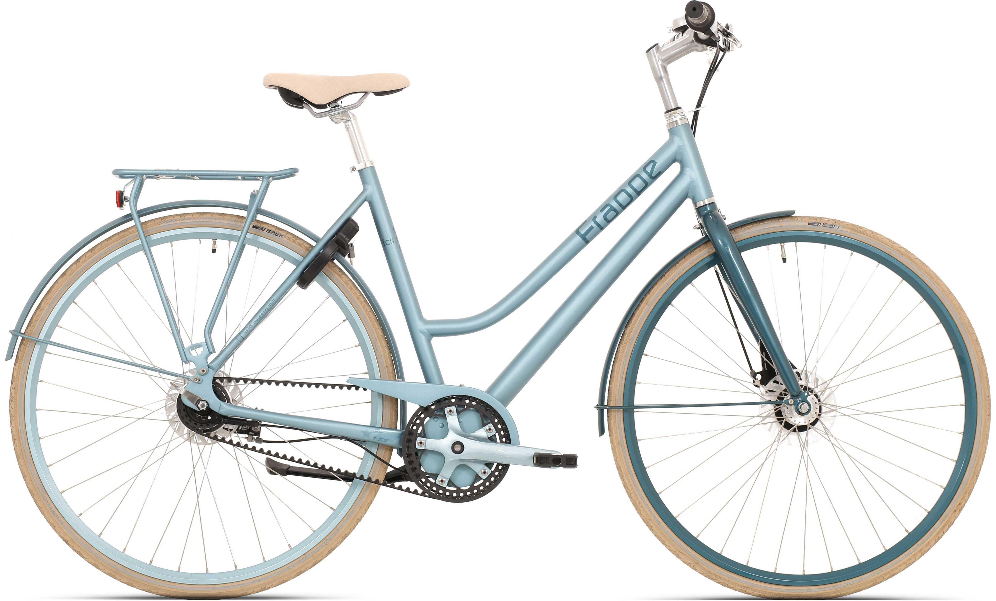 Frappe FCS 300.7 lady matt blå/grön 57 cm