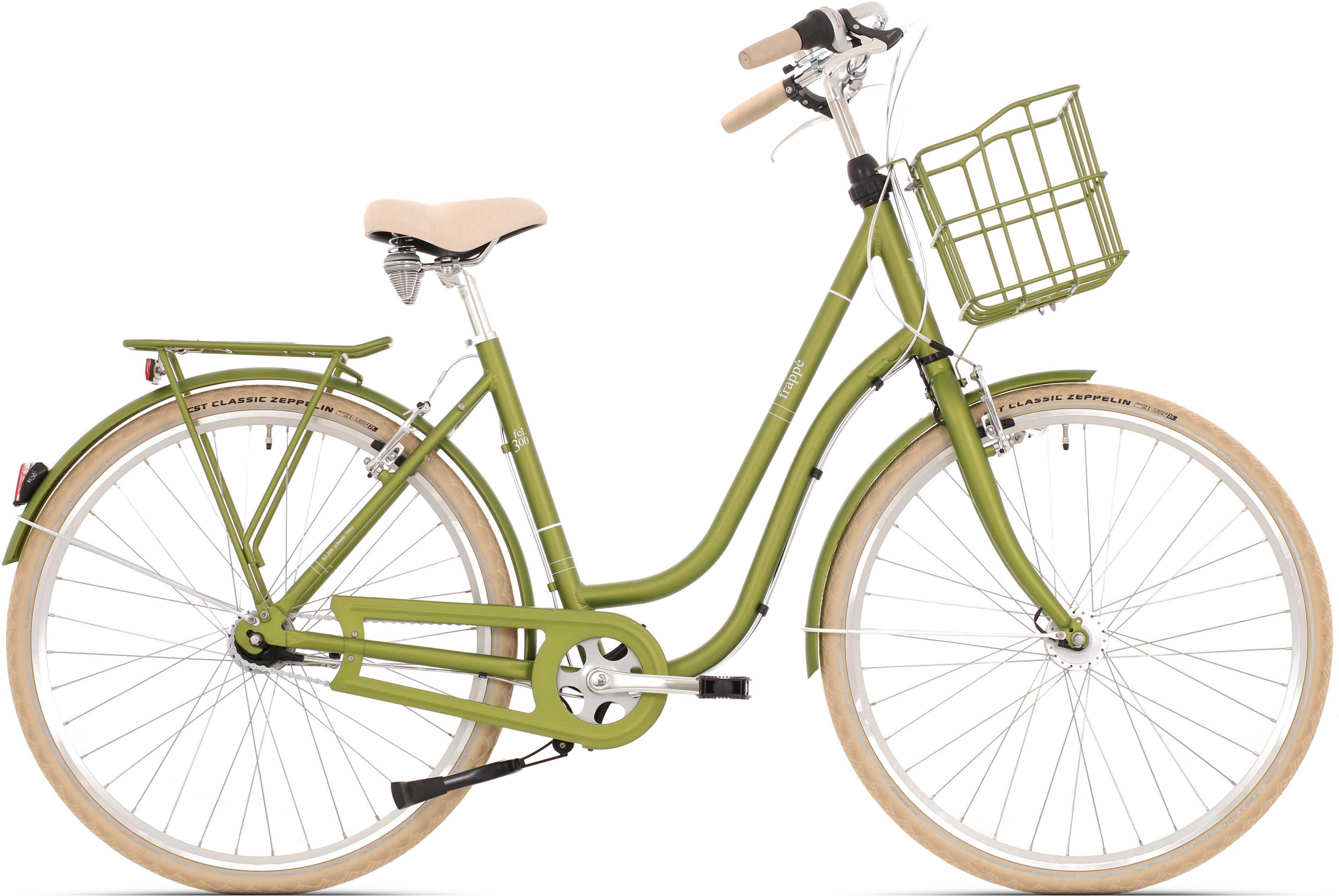Frappe FCL 300.7 lady SC matt grön 54 cm