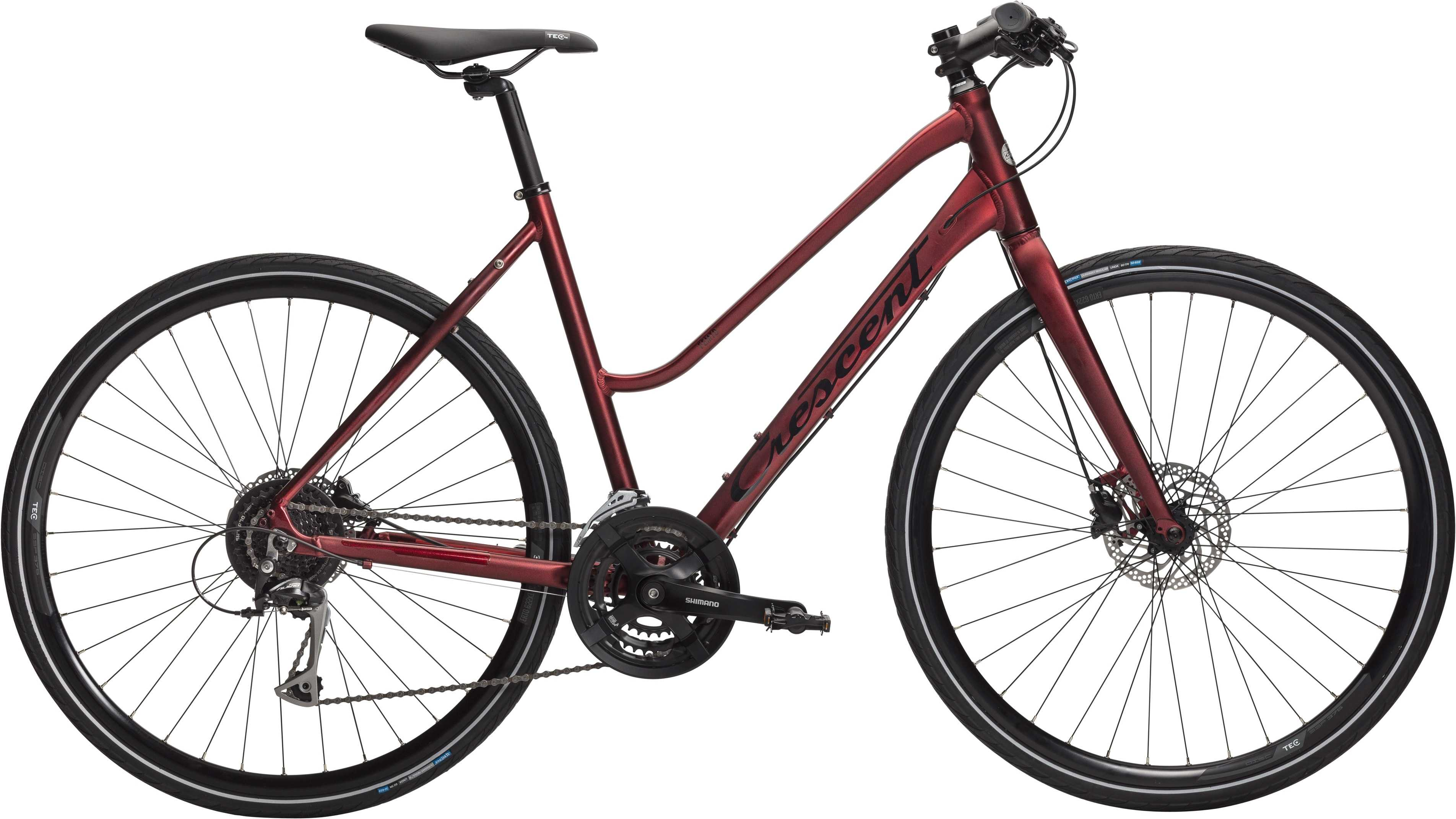 Crescent Femto matt röd metallic 55 cm