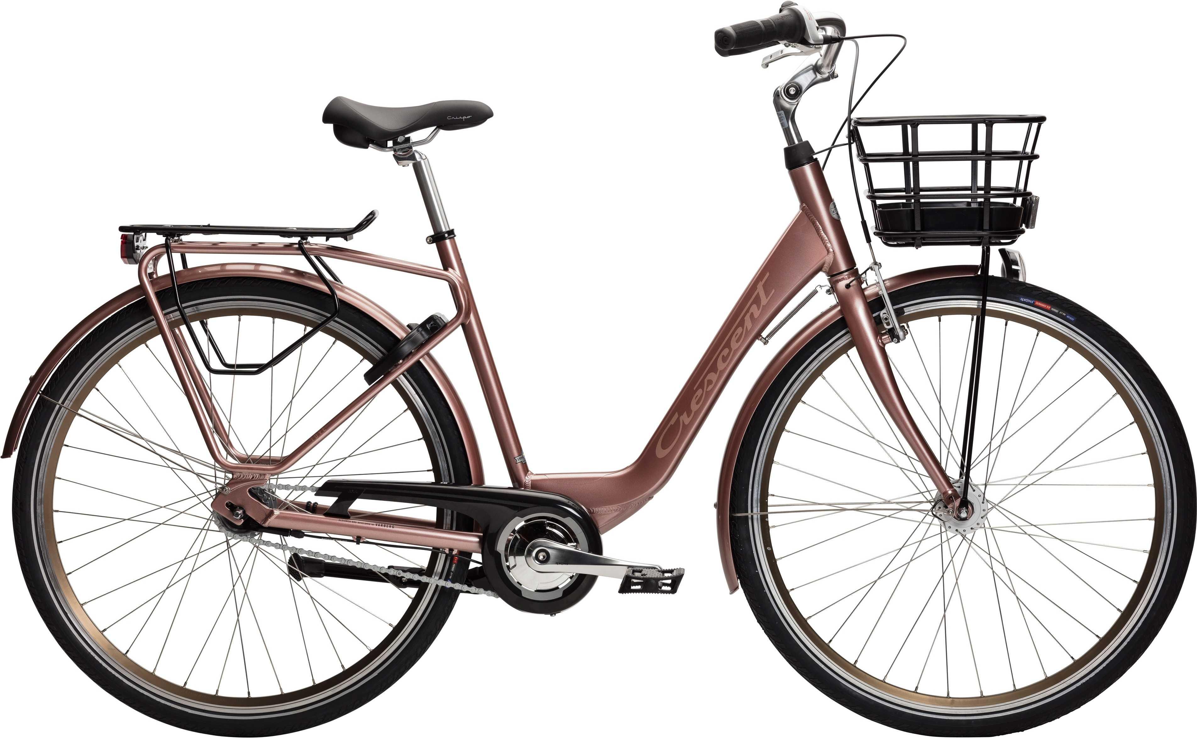 Crescent Tove 7-växlad rosé metallic 51 cm