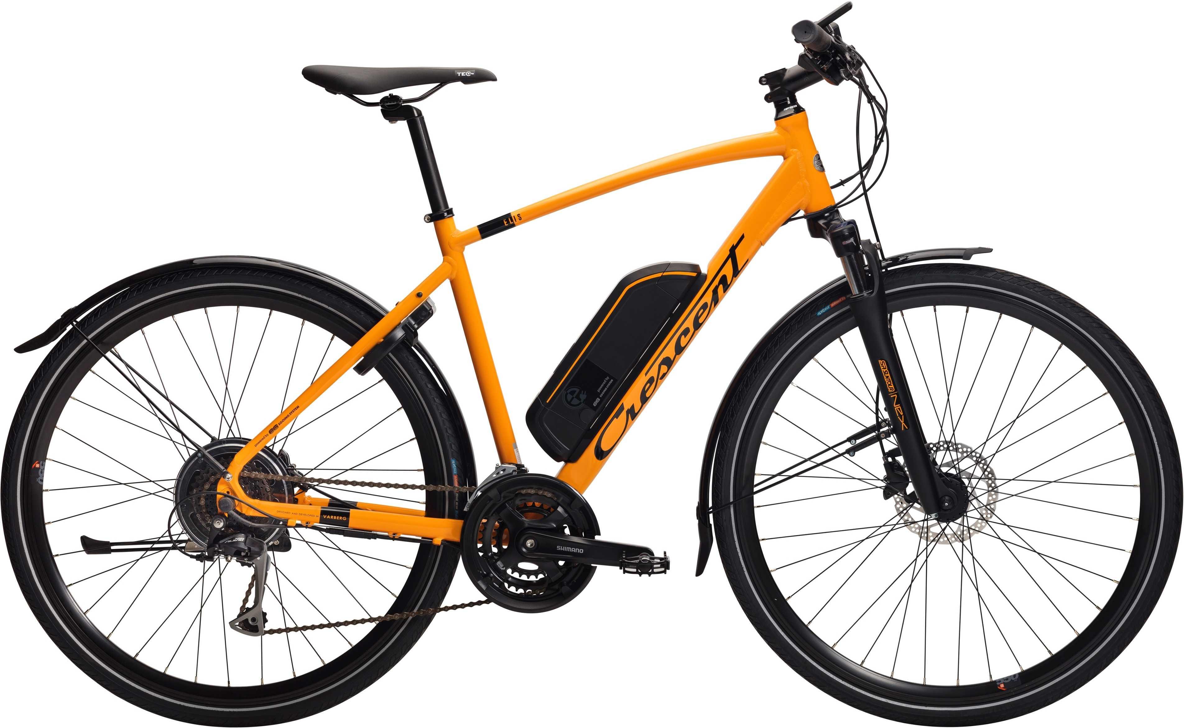 Crescent Elis matt orange 59 cm