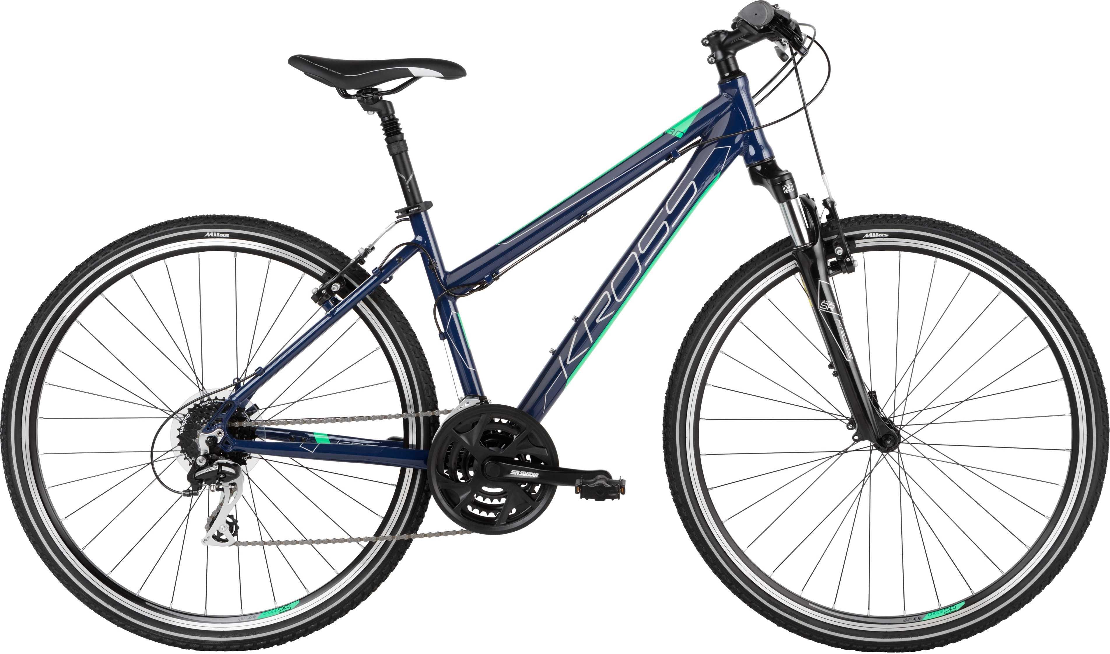 Kross Evado 3.0 mörkblå/grön large