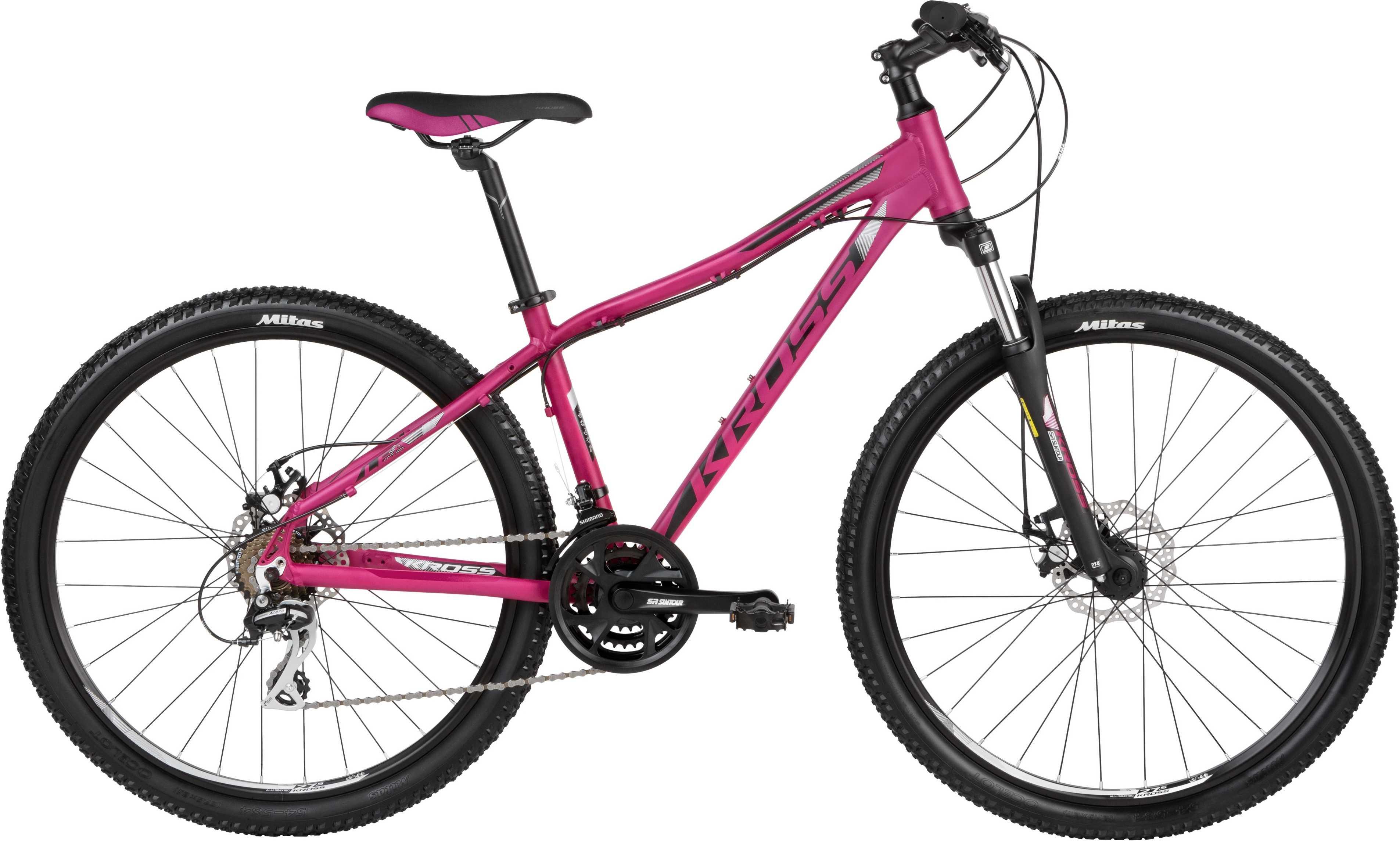 Kross Lea 4.0 26 rosa/svart Xx-small