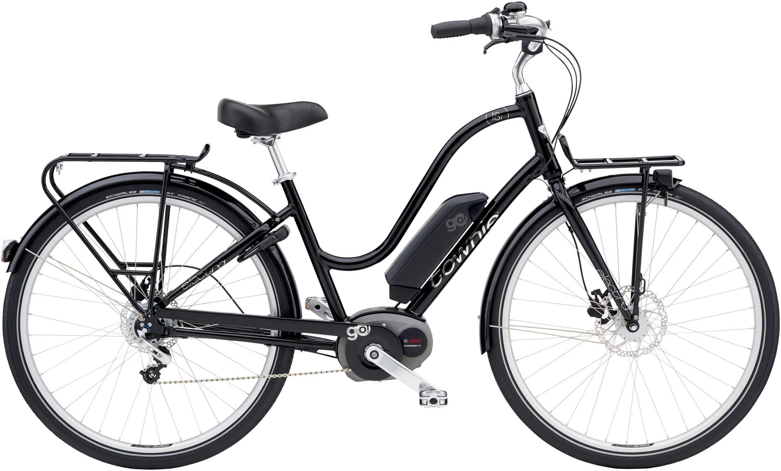 Electra Townie Commute Go! 8I dam svart one-size