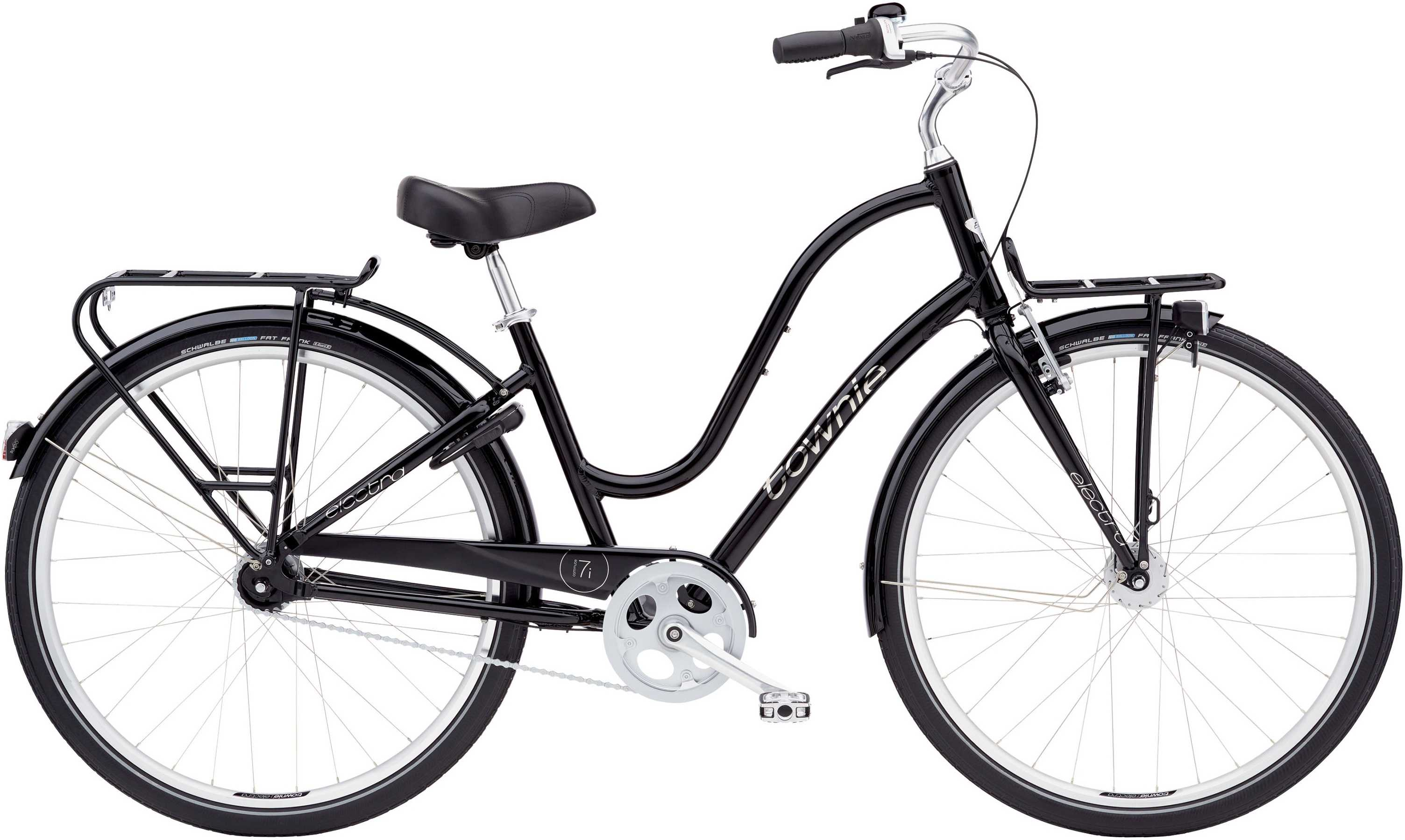Electra Townie Commute 7I EQ dam svart one-size