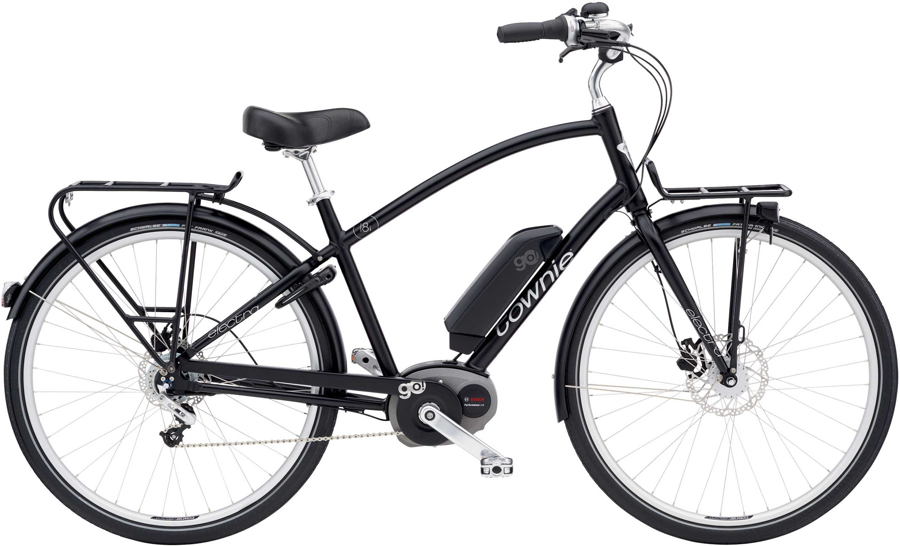 Electra Townie Commute Go! 8I herr svart one-size