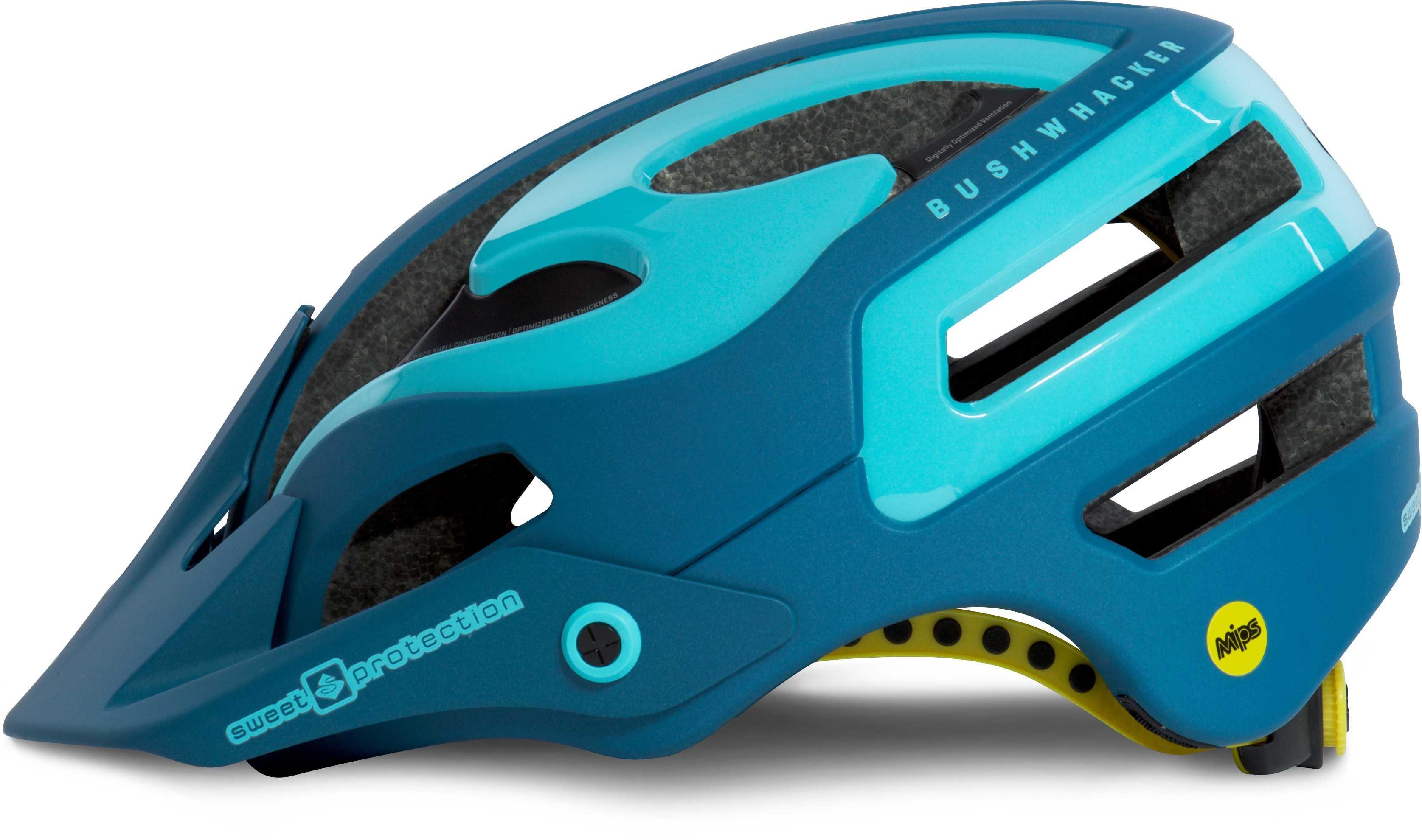 Hjälm Sweet Protection Bushwhacker II MIPS dam mörkblå/isblå metallic 56-59 cm