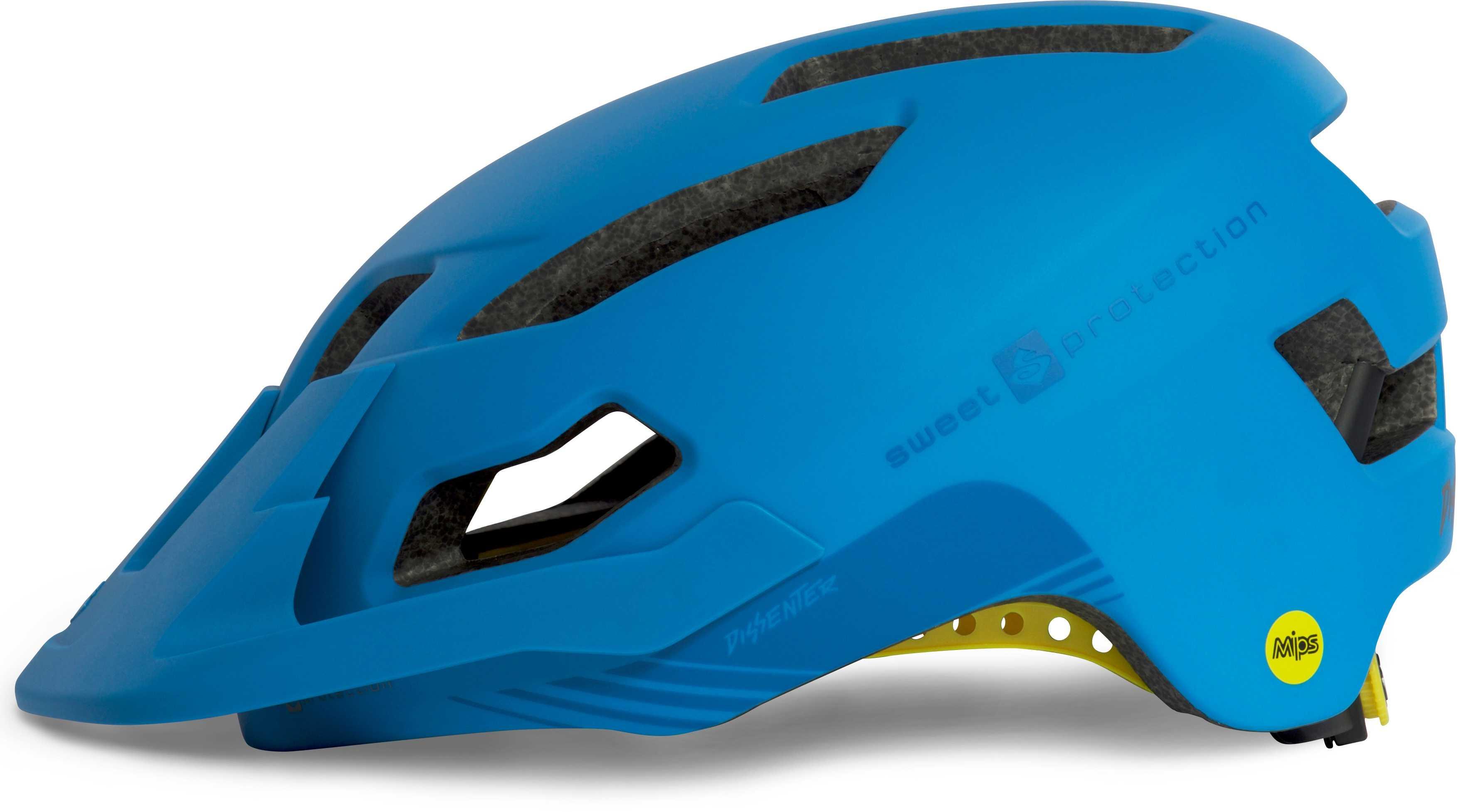 Hjälm Sweet Protection Dissenter MIPS matt blå 59-61 cm